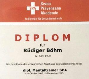Rüdiger Böhm Motivation und Coaching Experte für Veränderung Diplom Mental Trainer